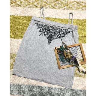 ロキエ(Lochie)のused エスニック刺繍 キャミソール チューブトップ(キャミソール)