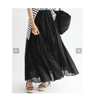 IENA - 値下げ美品 IENA コットボイルギャザースカート