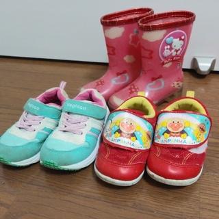 アンパンマン(アンパンマン)の女の子 靴 15cm(スニーカー)
