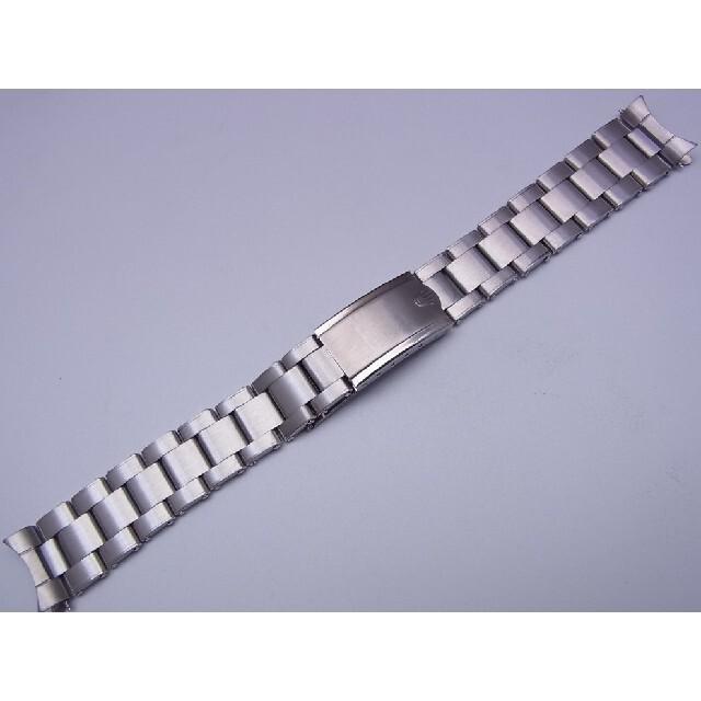 ROLEX(ロレックス)の20mm ストレートタイプのリベットブレス FF455b メンズの時計(金属ベルト)の商品写真