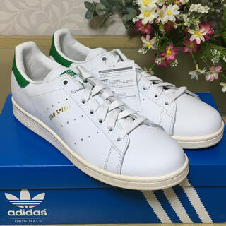 adidas - ◆新品◆adidas スタンスミス ホワイト グリーン 27cm S75074◆