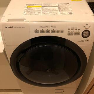 SHARP - [ドラム式洗濯機]SHARP ES-S7D-WR