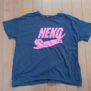 ユニカ(UNICA)のユニカ   ネコ柄Tシャツ   150cm(Tシャツ/カットソー)