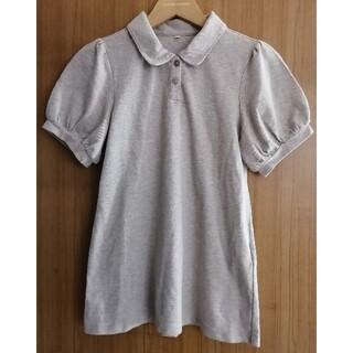 MUJI (無印良品) - MUJI無印良品 パフスリーブポロシャツ