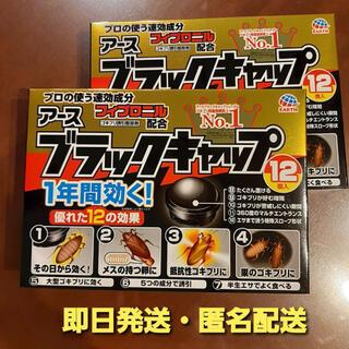 アースセイヤク(アース製薬)のブラックキャップ12個入り 2箱セット アース製薬 ゴキブリ駆除(日用品/生活雑貨)