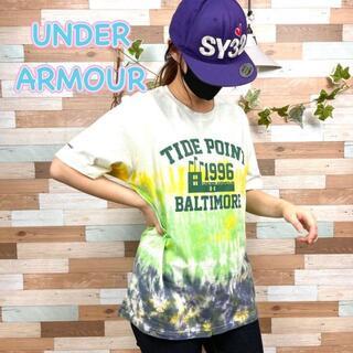 UNDER ARMOUR - 【着画】UNDER ARMOUR タイダイ柄Tシャツ XLサイズ No.S41