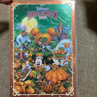 ディズニー(Disney)のハロウィンディズニーポストカード(キャラクターグッズ)