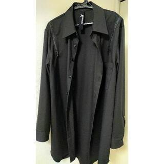 ヨウジヤマモト(Yohji Yamamoto)のGround Y ロングシャツ ジャケット(シャツ)