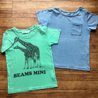 マーキーズ(MARKEY'S)の半袖 Tシャツ 90㎝ 男の子 女の子 マーキーズ ビームスミニ 2枚セット(Tシャツ/カットソー)