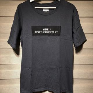 ダブルタップス(W)taps)のWTAPS tシャツ M  チャコールグレー(Tシャツ/カットソー(半袖/袖なし))