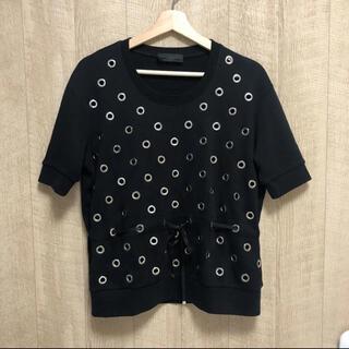 ディーゼル(DIESEL)のDIESEL BLACK GOLD カットソー ブラック(Tシャツ(半袖/袖なし))