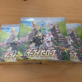 ポケモン(ポケモン)のイーブイヒーローズ3箱(Box/デッキ/パック)