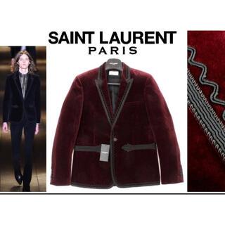 サンローラン(Saint Laurent)の9/17まで定価60万円 サンローランベルベットジャケット未使用(テーラードジャケット)