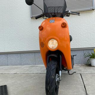 スズキ - SUZUKI スズキ チョイノリ オレンジ 原付 スクーター