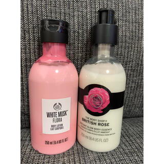 THE BODY SHOP - THE BODY SHOPボディローション 2本セット