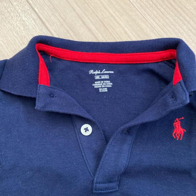 POLO RALPH LAUREN(ポロラルフローレン)のpolo ralph lauren ベビー服 60サイズ ロンパース キッズ/ベビー/マタニティのベビー服(~85cm)(ロンパース)の商品写真