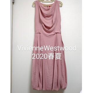 ヴィヴィアンウエストウッド(Vivienne Westwood)のviviennewestwood レッドレーベルワンピース(ひざ丈ワンピース)