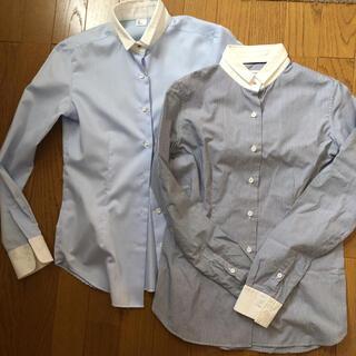 スーツカンパニー(THE SUIT COMPANY)のスーツカンパニー  長袖 クレリックシャツ2枚セット(シャツ/ブラウス(長袖/七分))