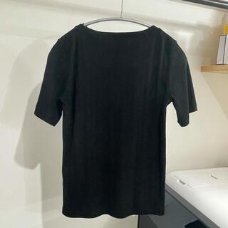 アーバンリサーチ(URBAN RESEARCH)のアーバンリサーチ黒リブTシャツ(Tシャツ(半袖/袖なし))