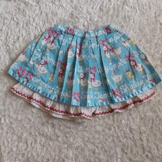 Shirley Temple - シャーリーテンプル アヒル キュロットスカート 120 美品