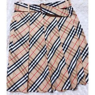 バーバリー(BURBERRY)の【美品】BURBERRY  バーバリースカート40センチ    (ひざ丈スカート)