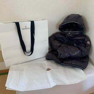 MONCLER - 【格安】 モンクレール キッズ ダウンジャケット ネイビー 98cm 正規品