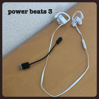 ビーツバイドクタードレ(Beats by Dr Dre)の【値下げ可能】power beats 3 wireless パワービーツ3 (ヘッドフォン/イヤフォン)