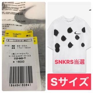 オフホワイト(OFF-WHITE)のナイキ オフホワイト Tシャツ Nike off white S サイズ(Tシャツ/カットソー(半袖/袖なし))