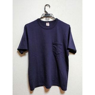 フリーホイーラーズ(FREEWHEELERS)の42 L サイズ フリーホイーラーズ  ポケット Tシャツ オールドネイビー(Tシャツ/カットソー(半袖/袖なし))