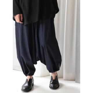 ヨウジヤマモト(Yohji Yamamoto)のYohji Yamamoto 19ss Denim Sarouel Pants(サルエルパンツ)