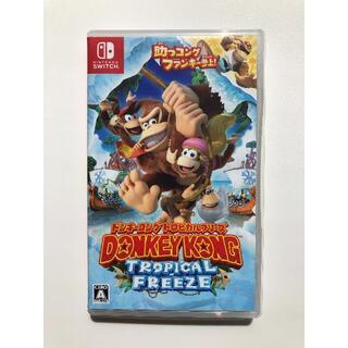 ニンテンドースイッチ(Nintendo Switch)のドンキーコング トロピカルフリーズ(家庭用ゲームソフト)