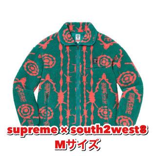 シュプリーム(Supreme)のsupreme × south2west8 シュプリーム フリース(ブルゾン)