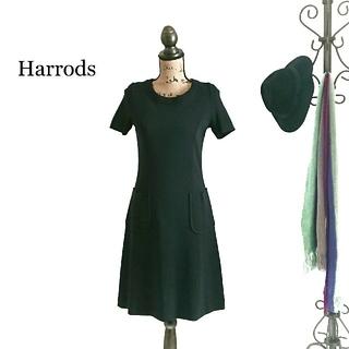Harrods - Harrods ハロッズ ワンピース ブラック