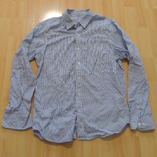ムジルシリョウヒン(MUJI (無印良品))の【無印良品】シャツ ブルーストライプ メンズ 長袖 綿【MUJI】(シャツ)