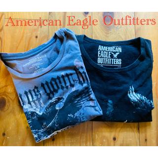 アメリカンイーグル(American Eagle)のアメリカン・イーグル・アウトフィッターズtシャツL2枚セット②(Tシャツ/カットソー(半袖/袖なし))