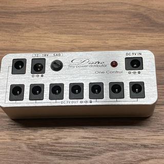 ワンコントロール 18V アダプタ 美品(エフェクター)