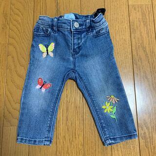 ベビーギャップ(babyGAP)のGAP★ギャップ★刺繍デニム★ジーンズ(パンツ/スパッツ)