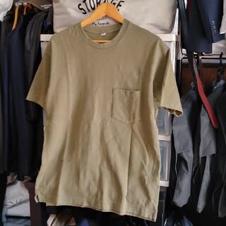 UNIQLO - ユニクロ Tシャツ メンズ Mサイズ カーキ色