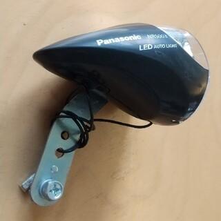 パナソニック(Panasonic)の【パナソニック】自転車用 ハブダイナモ用 1LEDライト NRS003(パーツ)