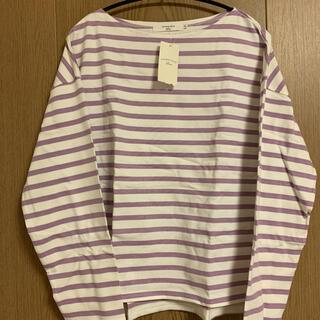 サマンサモスモス(SM2)の新品未使用 サマンサモスモス ボーダーTシャツ(Tシャツ(長袖/七分))
