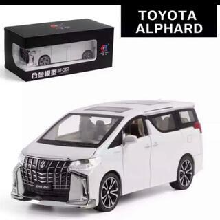 トヨタ - アルファード 30系後期 ミニカー模型 ALPHARD パール モデリスタ
