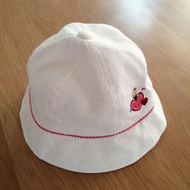 familiar(ファミリア)のファミリア 帽子 53 キッズ/ベビー/マタニティのこども用ファッション小物(帽子)の商品写真