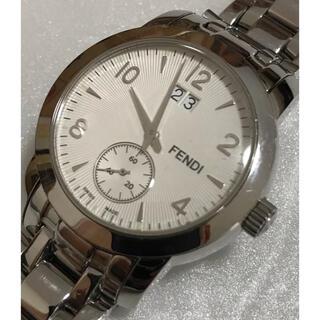 フェンディ(FENDI)のFENDI  Classico 2100G クォーツ 白文字盤 メンズ腕時計 (腕時計(アナログ))