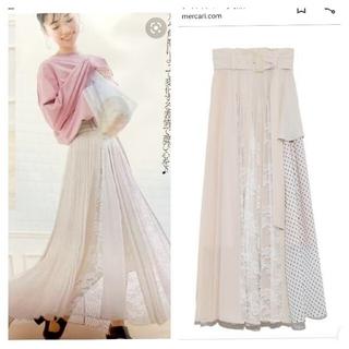 snidel - 泉里香さん着用☆  定価17600円  プリーツディテールスカート フレア