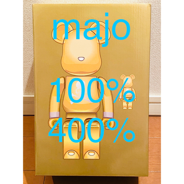 MEDICOM TOY(メディコムトイ)のBE@RBRICK mastermind GOLD 100% 400% エンタメ/ホビーのフィギュア(その他)の商品写真