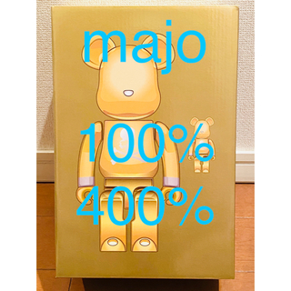 メディコムトイ(MEDICOM TOY)のBE@RBRICK mastermind GOLD 100% 400%(その他)