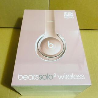ビーツバイドクタードレ(Beats by Dr Dre)の◾️Beats by Dr.Dre solo2 wireless ローズゴールド(ヘッドフォン/イヤフォン)