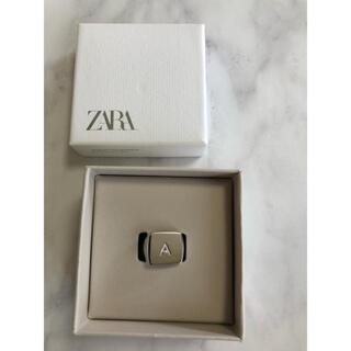 ザラ(ZARA)のZARA スターリング シルバー イニシャル A(リング(指輪))