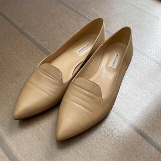 ファビオルスコーニ(FABIO RUSCONI)のファビオルスコーニ フラットパンプス 38(ローファー/革靴)