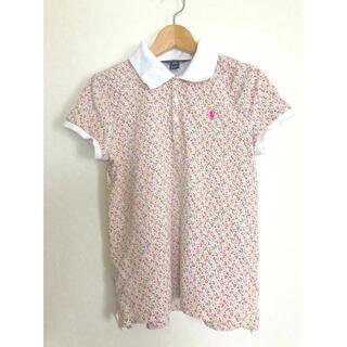 POLO RALPH LAUREN - ポロ ラルフローレン  ポロシャツ 花柄 160